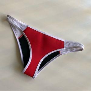 Hoaka Red Bottom Swimwear